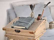 Papiernictvo - Kombinovaný kožený zápisník NATHAN - 10487917_