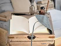 Papiernictvo - kožený cestovateľský denník SLOVAKIA - 10488011_