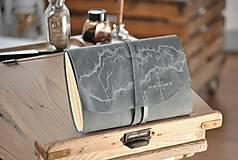 Papiernictvo - kožený cestovateľský denník SLOVAKIA - 10488019_
