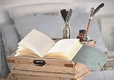 Papiernictvo - kožený cestovateľský denník SLOVAKIA - 10488026_