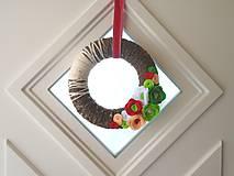 Dekorácie - Dekorácia na dvere - 10486722_