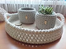 Košíky - Košíček kvetináč - 10487005_