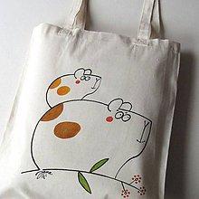 Nákupné tašky - KAMARÁDI - taška nákupní - 10490131_