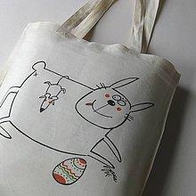 Nákupné tašky - VESELÉ VELIKONOCE - nákupní taška - 10490232_