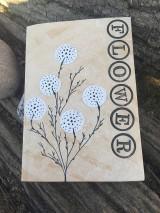 Papiernictvo - Zápisník Flower - 10488302_
