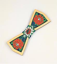 Doplnky - Pánsky drevený motýlik - 10489560_