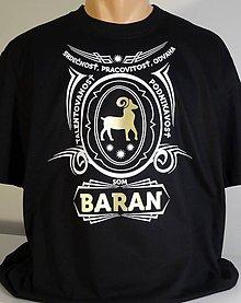 Tričká - Baran - podnikavosť a odvaha - 10490073_