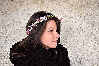 Ozdoby do vlasov - mezi zimou a jarem - 10488307_