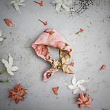 Šatky - Hodvábna šatka/malá - Nr.17 - 10489363_