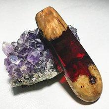 Náhrdelníky - Červený šperk - 10486447_