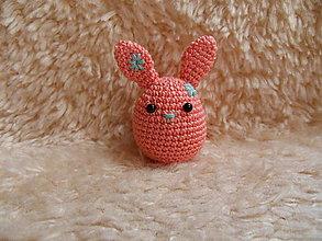 Dekorácie - Veľkonočný zajačik - vajíčko :-) - 10486973_