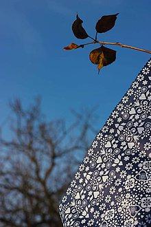 Úžitkový textil - Voskované vrecko Vreckáč 17x17cm (tousťák) (Ľudovít) - 10488217_