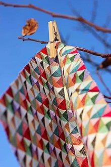 Úžitkový textil - Voskované vrecko Vreckáč 17x17cm (tousťák) (Opart) - 10488218_