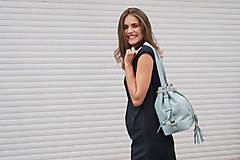 Šaty - Rovné šaty s bočnými vreckami BLACK & WHITE COLLECTION - 10489152_