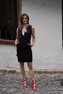 Šaty - Rovné šaty BLACK & WHITE COLLECTION - 10490126_