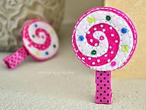 Ozdoby do vlasov - Lollipop - 10488612_