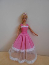 Hračky - Šaty pre barbie - 10489738_