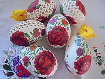 Dekorácie - Krasličky na ľudovo-folk - 10488373_