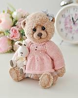 Hračky - Háčkovaný medvedík - 10488025_