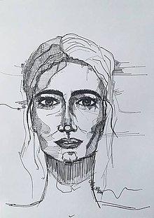 Kresby - Žena - 10492374_