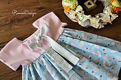 Detské oblečenie - šatky (s monogramom) - 10490726_