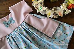 Detské oblečenie - šatky (s monogramom) - 10490727_