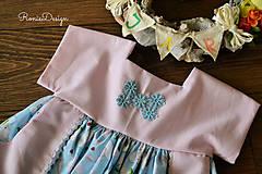 Detské oblečenie - šatky (s monogramom) - 10490729_