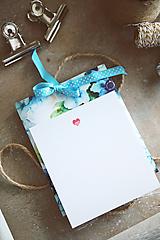Papiernictvo - Svadobné prianie s obálkou - 10492397_