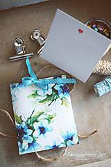 Papiernictvo - Svadobné prianie s obálkou - 10492401_