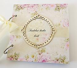 Papiernictvo - svadobná kniha hostí - 10490419_