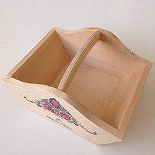 Košíky - Košíček - drevený na oriešky - 10492053_