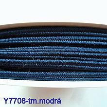 Galantéria - Šujtáš PEGA 3mm-1m (Y7708-tm.modrá) - 10493155_