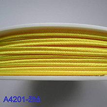 Galantéria - Šujtáš PEGA 3mm-1m (A4201-žltá) - 10493296_