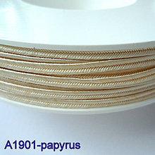 Galantéria - Šujtáš PEGA 3mm-1m (A1901-papyrus) - 10493339_