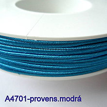 Galantéria - Šujtáš PEGA 3mm-1m (A4701-provens.modrá) - 10493341_