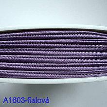 Galantéria - Šujtáš PEGA 3mm-1m (A1603-fialová) - 10493362_