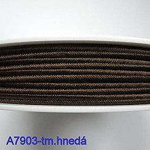 Galantéria - Šujtáš PEGA 3mm-1m (A7903-tm.hnedá) - 10493364_