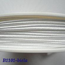 Galantéria - Šujtáš PEGA 3mm-1m (B1101-biela) - 10493376_