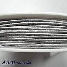 Galantéria - Šujtáš PEGA 3mm-1m (A1001-sv.šedá) - 10493377_