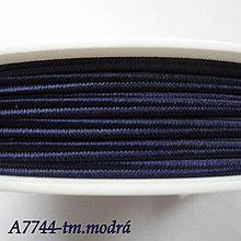 Galantéria - Šujtáš PEGA 3mm-1m (A7744-tm.modrá) - 10493379_