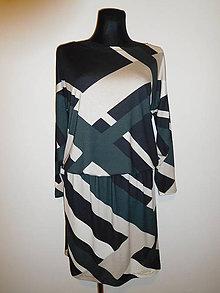 Šaty - Originální geometrie - 10490540_