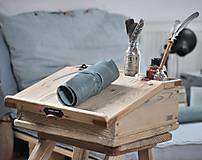 Papiernictvo - kožený rolovací peračník MAX - 10492424_