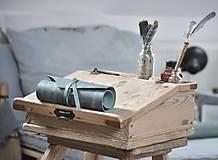 Papiernictvo - kožený rolovací peračník MAX - 10492425_