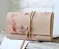 Kabelky - Listová kabelka ROSE CLUTCH SLIM - 10490756_