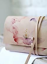 Kabelky - Listová kabelka ROSE CLUTCH SLIM - 10490757_
