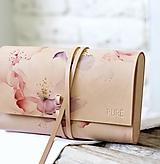 - Listová kabelka ROSE CLUTCH SLIM - 10490761_