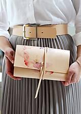 Kabelky - Listová kabelka ROSE CLUTCH SLIM - 10490770_