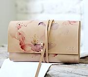 Kabelky - Listová kabelka ROSE CLUTCH SLIM - 10490773_