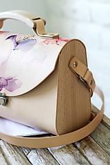 Kabelky - Kabelka na rameno SATCHEL BAG ROSE - 10490826_