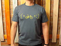 Tričká - Sivé Pánske tričko :) - 10492973_